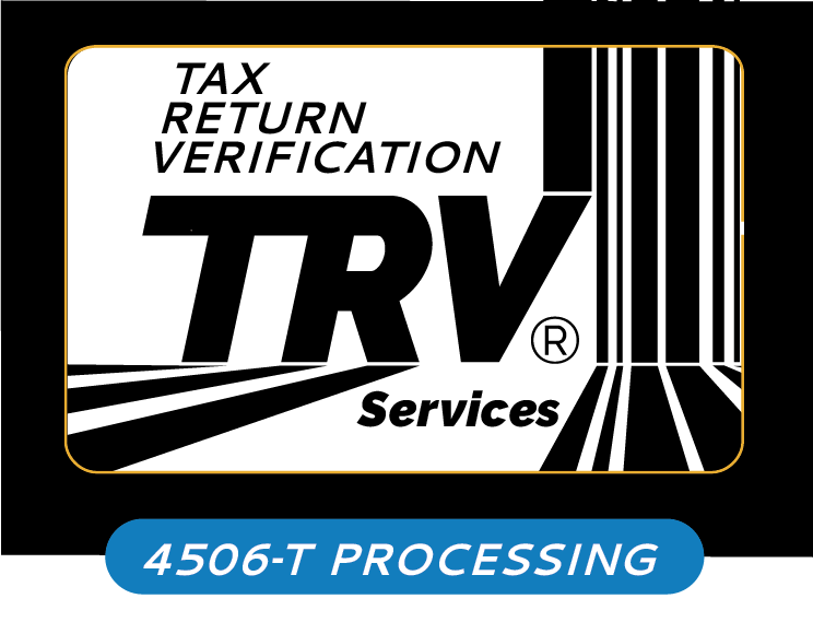 TRV Services | 4506-T Processing - Tax Return Verification
